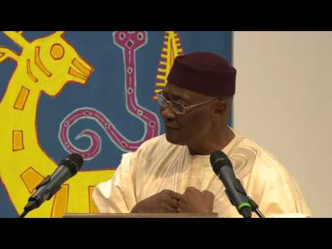 Lecture at ISS by His Excellency Amadou Toumani Touré, The President of Mali