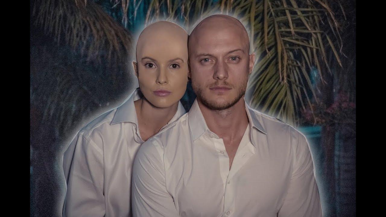 Amanda Cerny and Johannes Bartl
