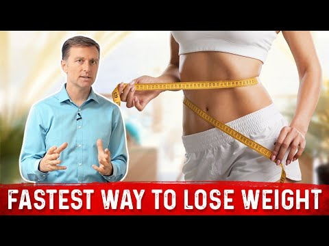 The Fastest Way to Lose Weight: MUST WATCH!