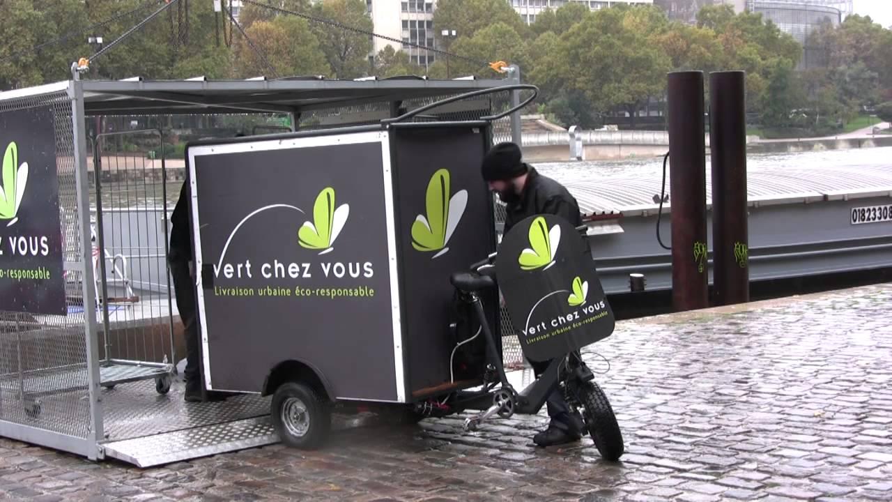 la p niche le vokoli du coursier multimodal parisien vert chez vous youtube. Black Bedroom Furniture Sets. Home Design Ideas