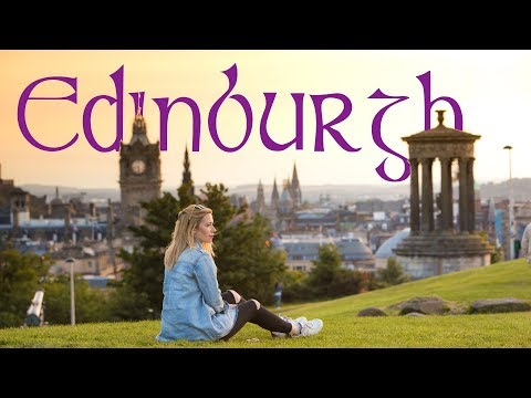 The Uk's Most Photogenic City!  |   Edinburgh Travel Vlog