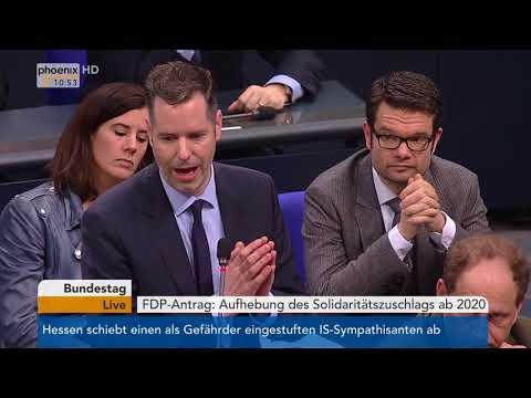 Bundestagsdebatte über die