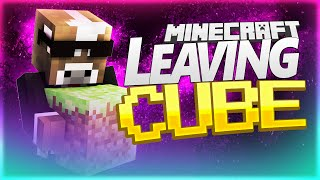 LEAVING THE CUBE PRANK!! ( Minecraft Funny Videos & Pranks w/ Graser10 )