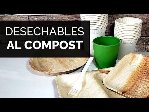 Fiestas SIN PLASTICO! Conoce Los DESECHABLES BIODEGRADABLES | Paso Sustentable