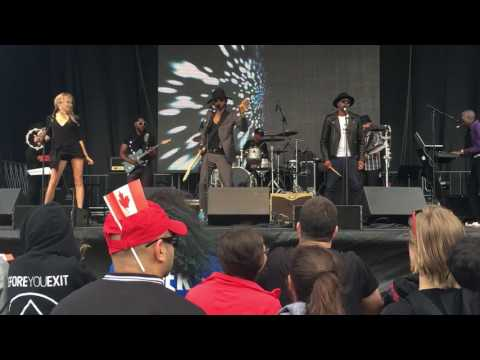 """Prince- """"Raspberry Beret'"""" live (The Funk Frequency) @ Canada Day Festival"""