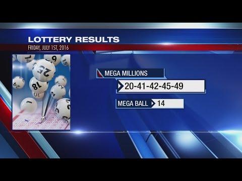 Winning numbers for Mega Millions $415M jackpot