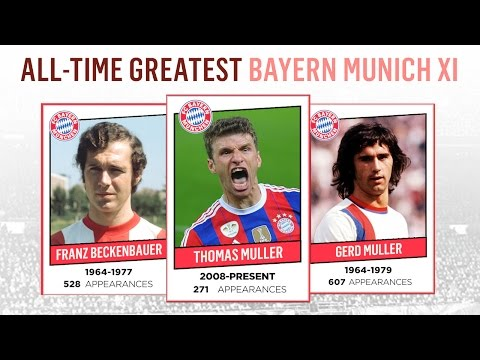 All-Time Greatest Bayern Munich XI | Müller, Beckenbauer, Robben!