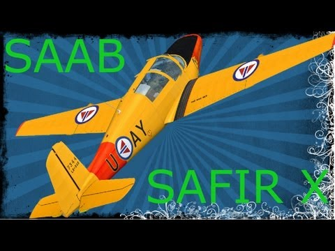 FSX SibWings lab: SAAB Safir X Model HD