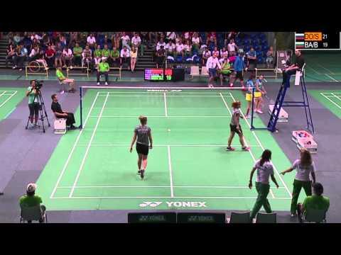7th Deaf Badminton EC in Geneva - Saturday Afternoon