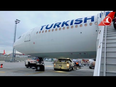 Turkish Airlines REVIEW - GREAT AIRLINE | A330-200 ECONOMY CLASS