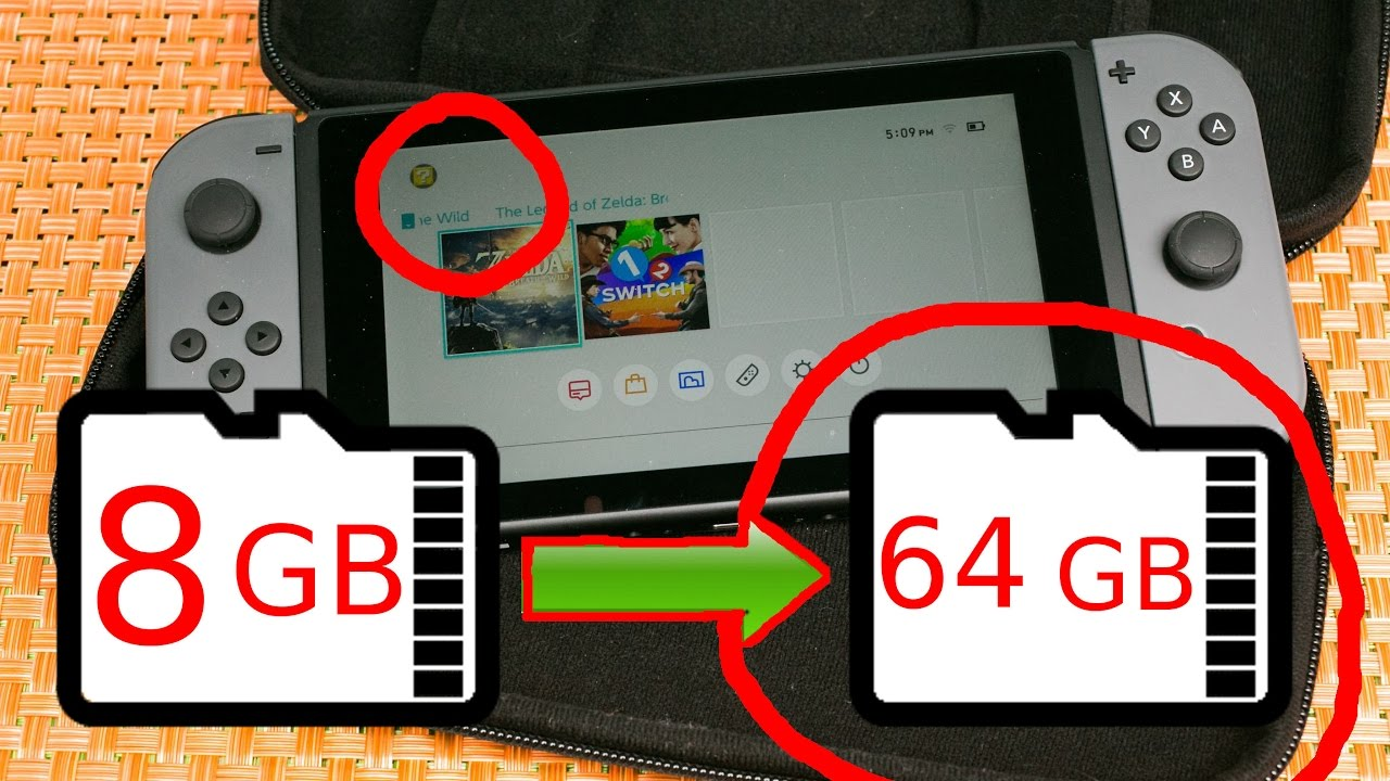 Switch Sd Karte.How To Change Your Sd Card In Your Nintendo Switch Tutorial