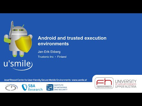 Android and trusted execution environments (by Jan-Erik Ekberg)