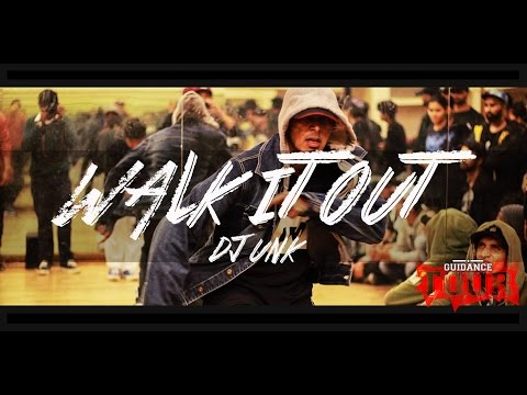 "Walk It Out - DJ Unk | Donny Choreography| GUIDANCE Tour ""Delhi"""