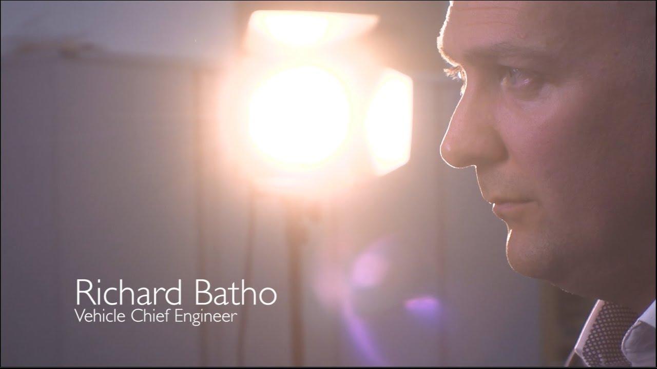 Richard Batho -车辆总工程师,专注于新时代的MG工程。
