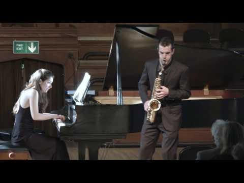 Phillip Attard - 3rd prize winner Wind section (Saxophone)