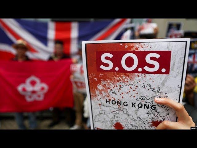 """欧洲视点:反送中高举英国旗 香港是""""新冷战柏林""""?"""