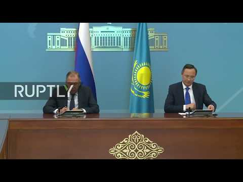 LIVE: Lavrov to hold joint press conference with Kazakhstan FM Abdrakhmanov
