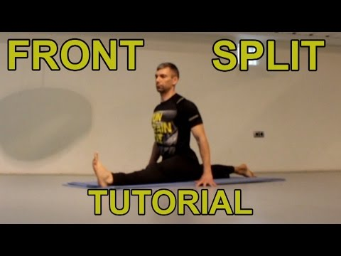 How to do the front splits FAST - YouTube