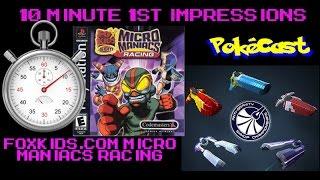 10 Minute 1st Impressions : FoxKids.com Micro Maniacs Racing
