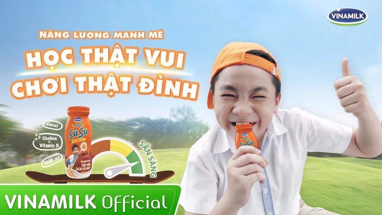 Quảng cáo Vinamilk – MV Super Susu Học thật vui, Chơi thật đỉnh – Nguyễn Hoàng Quân (Bé Ben)