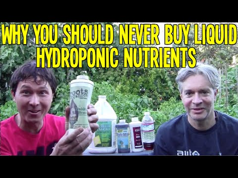 Why You Should Never Buy Liquid Hydroponic Gardening Nutrien