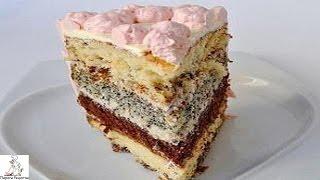 Вкусные домашние торты с фото.Фруктово шоколадный торт