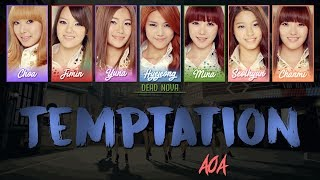 AOA (에이오에이) - Temptation (LYRICS) [Han|Rom|Eng Colour-Coded]