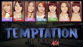 AOA (에이오에이) - Temptation (LYRICS) [Han|Rom|Eng Colour-Coded]