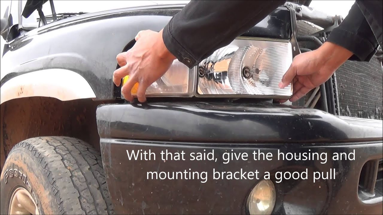 1994 2002 Dodge Ram Headlight Removal