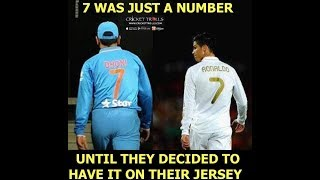 7 Similarities between M S Dhoni and Cristiano Ronaldo