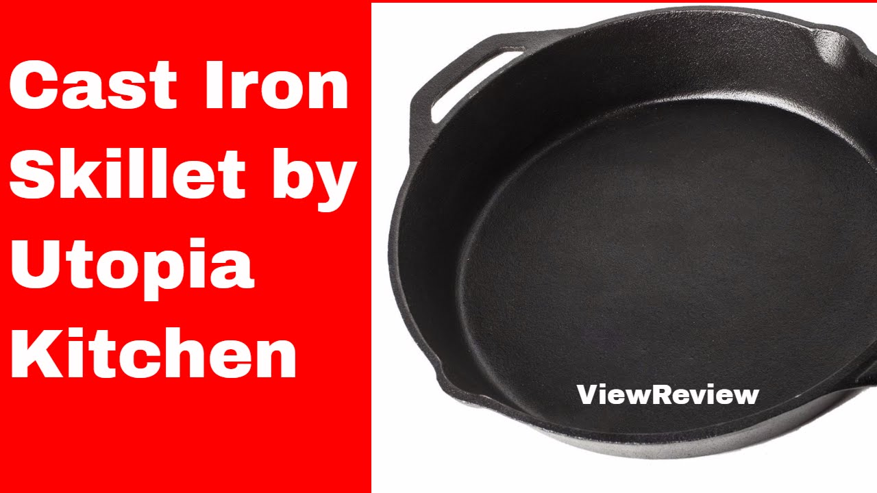 Utopia Kitchen Cast Iron Review