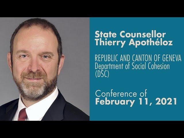 State Councillor - Thierry Apothéloz