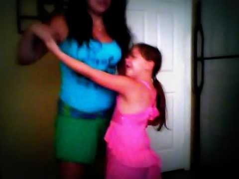 Me An My Sister Doing Lambada