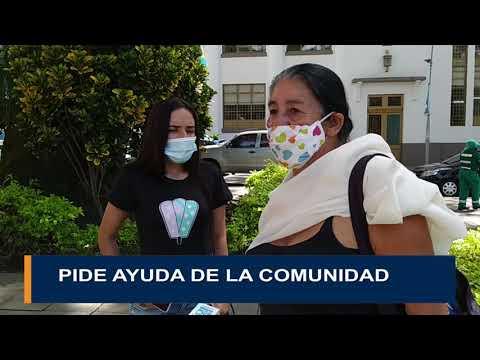 PIDE AYUDA DE LA COMUNIDAD
