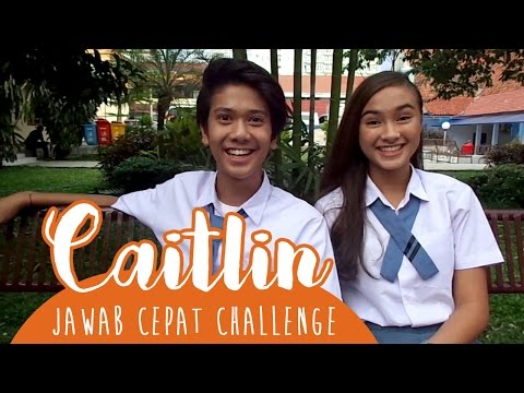 Caitlin Ask For: Jawab Cepat Challenge With Iqbaal CJR
