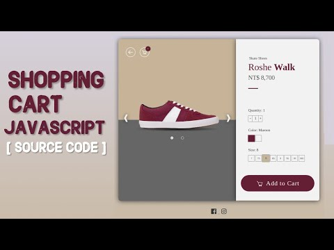 Add to Cart Code in JavaScript | Shopping Cart in JavaScript with Source Code