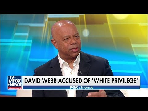 MUST-SEE: David Webb Joins 'Fox & Friends' After CNN Analyst Called Out His 'White Privilege'