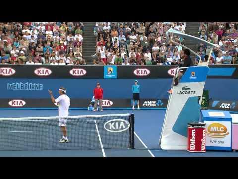 David Nalbandian Loses Control  Australian Open 2012