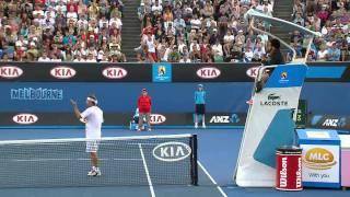 David Nalbandian Loses Control | Australian Open 2012