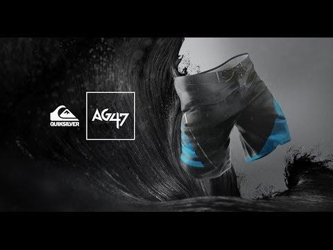 Quiksilver AG47 New Wave Bonded Boardshort