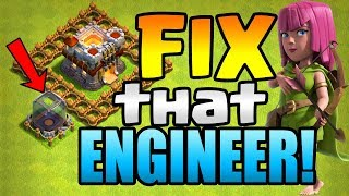 CAN'T FIND LOOT!  FIX That ENGINEER ep2 | Clash of Clans