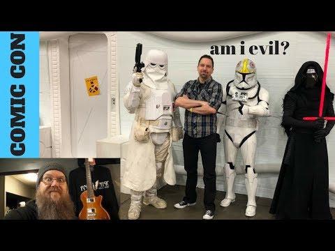 Dallas Comic Con, Guitar Repairs and Beard Life VLOG!