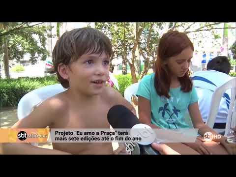 Projeto Eu Amo a Praça divertiu famílias em Florianópolis (12/03/2018)
