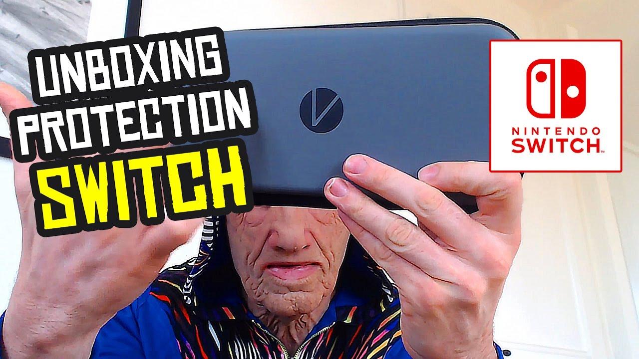 Unboxing d 39 une housse pour la switch youtube for Housse switch