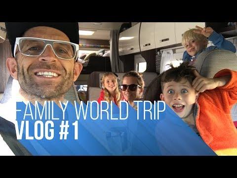 FAMILY WORLD TRIP | VLOG#1 UK/BELGIUM