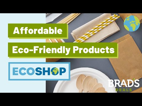 "Brad's Deals Encourages Customers to Shop ""Eco-Consciously"""