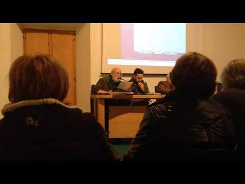Pino Galeotti, regista Rai, illustra il video sul collezionista Mauro Galeotti