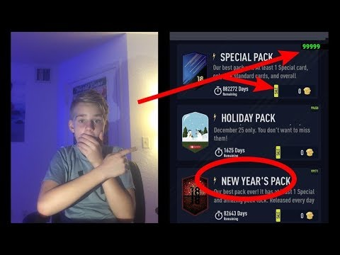 HOW TO GET UNLIMITED PACKS FOR FREE!! *easy* | pacybits fut 18
