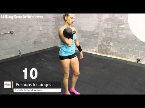 Kettlebell Workout - Godzila Swing Workout