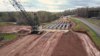 64 ByPass Update- 3/31/17... DJI Mavic Pro ... Bridge Girders